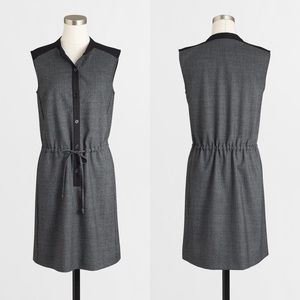 EUC J. Crew Drawstring Shirtdress Dress size S